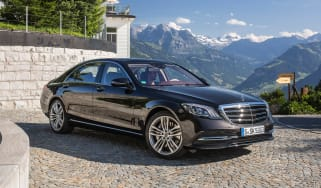 The facelifted S-Class has a more prominent grille, new engines and more autonomous technology