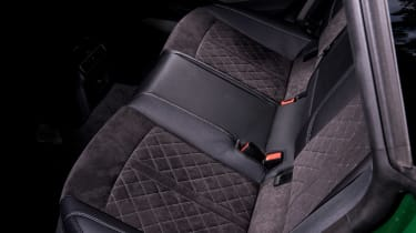 Audi RS5 Sportback rear seats