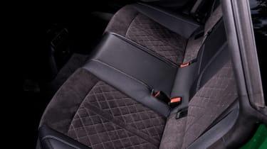 Audi RS5 Sportback rear seats
