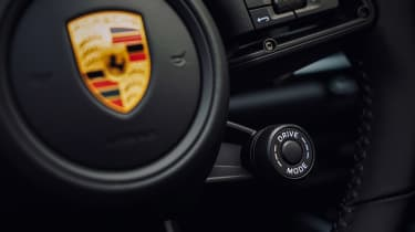 Porsche 911 Targa steering wheel