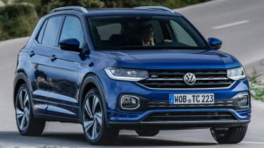 Volkswagen T-Cross 2019 tracking front