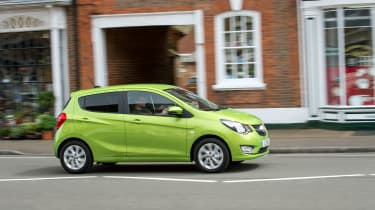 The Viva is a city car that competes with models such as the VW up! and Ford Ka+