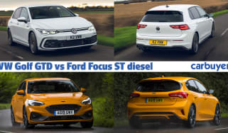 Volkswagen Golf GTD vs Ford Focus ST header image