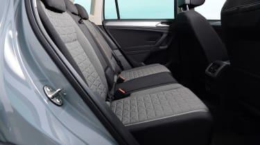 Volkswagen Tiguan SUV rear seats