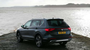 SEAT Tarraco SUV rear static