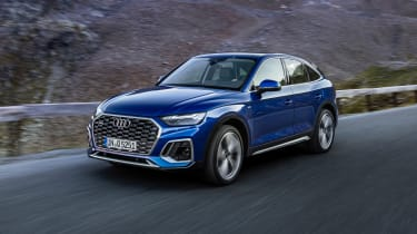 2021 Audi Q5 Sportback - front 3/4 dynamic