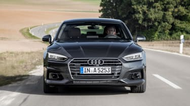 Mechanically the Audi A5 is virtually identical to the Audi A4 Saloon
