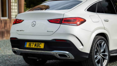 Mercedes GLE SUV Coupe tail
