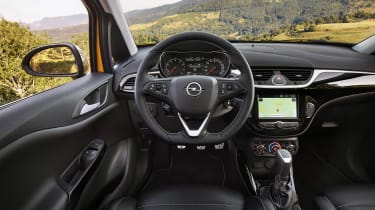 Vauxhall Corsa GSI dashboard
