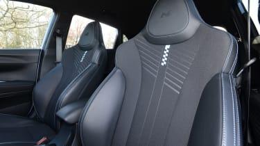 Hyundai i20 N hatchback front seats