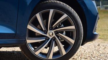 2020 Skoda Octavia Estate - alloy wheel close