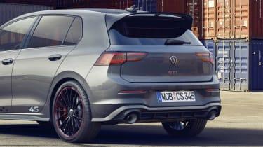 Volkswagen Golf GTI Clubsport 45 rear end