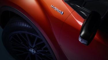 2020 Toyota CH-R Hybrid - wing details