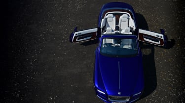 The rear-opening doors might take some getting used to, but make for a more elegant entry into the back seats