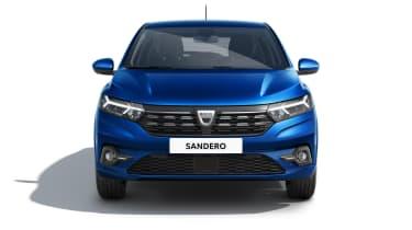 New Dacia Sandero front end