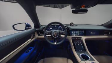 2020 Porsche Taycan - Interior view
