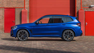 2021 BMW X3 M side static