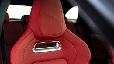 Jaguar F-Pace SUV headrest