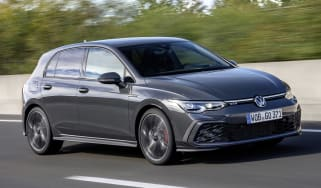 2020 Volkswagen Golf GTD - front 3/4 view
