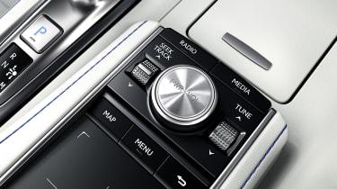 Lexus LC500 Convertible infotainment controls