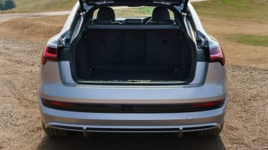 Audi e-tron Sportback SUV boot