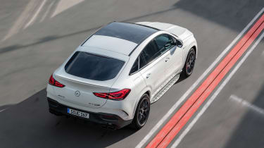 2020 Mercedes-AMG GLE 63 S Coupe overhead static