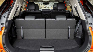 2017 Nissan X-Trail - boot space seats up