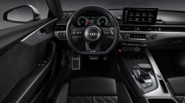 Audi S5 Coupe interior