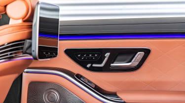 Mercedes S-Class saloon rear doors