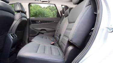 2015 Kia Sorento SUV - rear seats