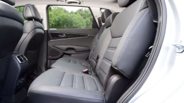 2015 Kia Sorento SUV - rear seats