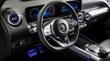 2019 Mercedes GLB - interior close up