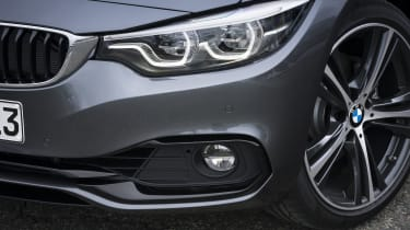 BMW 4 Series Gran Coupe headlights