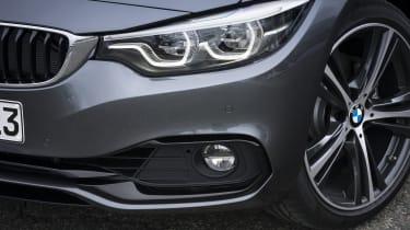 BMW 4 Series Gran Coupe headlights