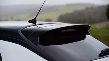 Vauxhall Corsa hatchback rear spoiler