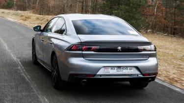 Peugeot 508 HYbrid rear