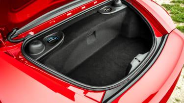 Porsche 718 Boxster convertible rear boot