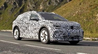 2021 Volkswagen ID.4 SUV  - front 3/4 view