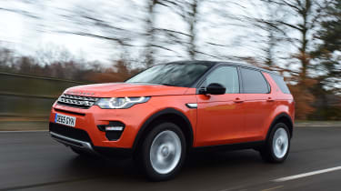Land Rover Discovery Sport - front 3/4 view
