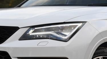 Cupra Ateca SUV - front headlights