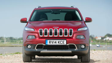The Cherokee has a distinct look and plenty of off-roading heritage, which may sway some buyers.