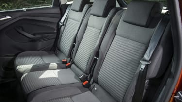 There's room for three in the back of the C-MAX