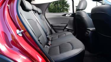 Kia XCeed hatchback rear seats