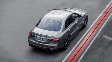 Mercedes-AMG E53 top view - rear
