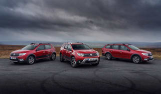 Dacia Techroad Sandero Stepway, Duster and Logan MCV Stepway
