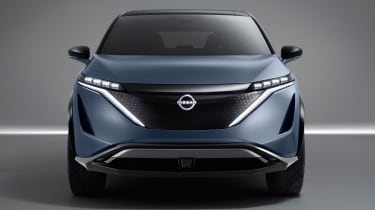 Nissan Ariya concept front end