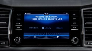 All models come with Smartlink connectivity, including Apple CarPlay and Android Auto