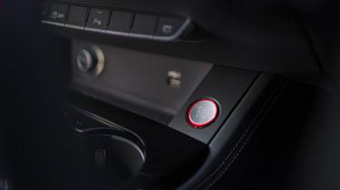 Audi S5 Coupe centre console