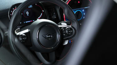 MINI John Cooper Works GP - interior view