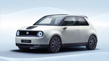 Honda e Prototype r - front